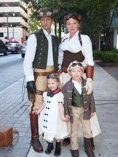 SO CUTE STEAMPUNK FAMILY This will be my family soon! lol