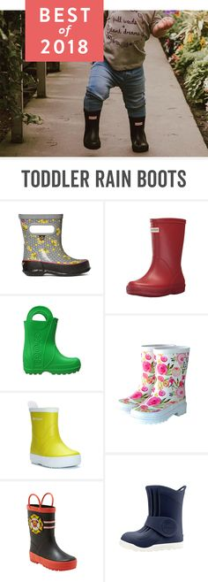 What kid doesn't love splashing in rain puddles? With these toddler rain boots—from bargain to expensive—kids can have fun in the rain while still keeping their feet dry. Baby Rain Boots, Toddler Rain Boots, Rubber Rain Boots, Toddler Boy Outfits, Toddler Boys, Kids Outfits, Baby Outfits, Cute Kids Fashion, Toddler Fashion