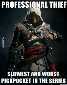 Altaïr was better....