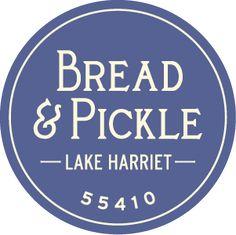 Bread & Pickle:  Delicious alternative to packing your own picnic for a Lake Harriet picnic.  Love the Black Bean burger.