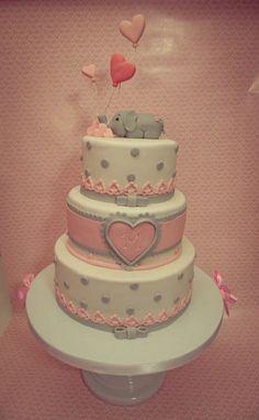 Sloncici rodjendanska torta - Cute Elephant Birthday Cake by Balerina Torte Jagodina http://tinyurl.com/opo6cs3