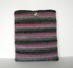 Crochet iPad Case/ Cozy/ Sleeve also fits 9 inch by CustomBearHugs,  $30.00