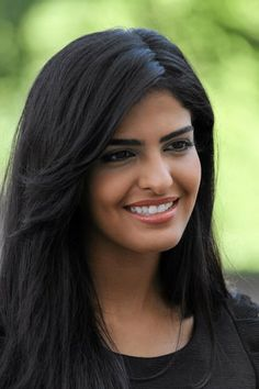 Princess Ameerah al Taweel. So pretty and love her hair and makeup