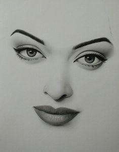 Pin by garima singh on pencil drawings Drawing Eyes, Anatomy Drawing, Pencil Art Drawings, Art Drawings Sketches, Unique Drawings, Charcoal Art, Face Sketch, Celebrity Drawings, Pencil Portrait