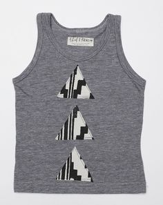 Triple Pyramid Tank by Thief & Bandit Kids