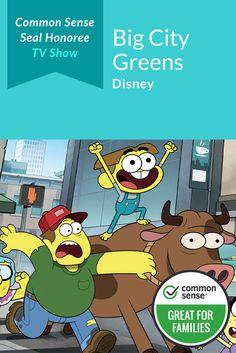 Big City Greens Tv Review Tv Reviews City Family Theme