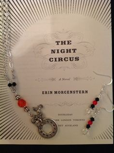 The Night Circus Reveur necklace and earrings set. $20.00, via Etsy.