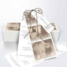 Hochzeitseinladung Unsere Bestimmung Detail