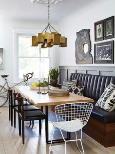 Get contemporary, modern and traditional kitchen banquette ideas from the House & Home archives.