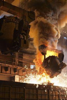Steel mill: