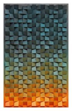 Jan Albers, 'thrEEhundrEdtwEntytwOupanddOwnmOrningglOry', 2013 in 2020 Wooden Wall Art, Wood Wall, Wood Sculpture, Wall Sculptures, Recording Studio Design, Wood Mosaic, Reclaimed Wood Art, Acoustic Panels, Art Plastique