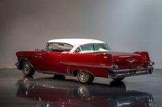 1957 Cadillac Deville #Cadillacclassiccars #classiccars1957cadillac