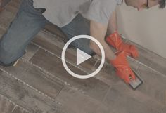 Apply grout - Tile Your Mudroom
