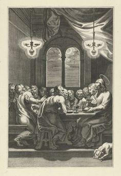 La Última Cena, Peter Paul Rubens, 1581 - 1633