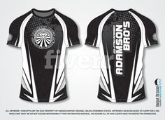 Fiverr top rated seller will provide T-Shirts & Merchandise services and do custom jersey design or sublimation jersey including Design concepts within 5 days T Shirt Designs, Jersey Designs, Rugby Jersey Design, Custom T Shirt Printing, Shirt Template, Uniform Design, Team Wear, Paintball, Sports Logo