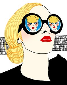 glasses.quenalbertini: Reflection glasses