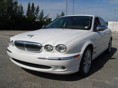 white jaguar x type.  Thinking about getting this when I save up enough.