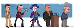Jeff Victor - Jack Nicholson evolution