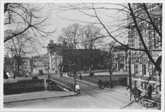 Groningen<br />De stad Groningen: De Museumbrug in 1935