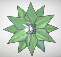 Hey, I found this really awesome Etsy listing at https://www.etsy.com/listing/165137454/stained-glass-star-clock