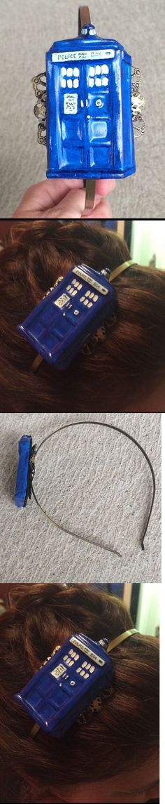Hair Jewelry 164351: Handmade Resin Handpainted Doctor Who Headband Cosplay Hair Tardis Whovian Gift -> BUY IT NOW ONLY: $32.54 on eBay!