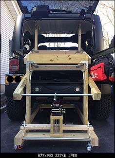 Free standing hard top hoist systems jeep things pinterest building my hardtop lift jeep wrangler forum solutioingenieria Image collections