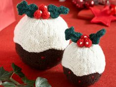 Looking to make your own festive decorations this year? Our Christmas pudding pattern is the perfect place to start