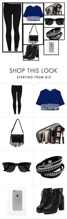 """""""Day-13"""" by kryslyn007 on Polyvore featuring adidas, Emilio Pucci, Laura Mercier, Ray-Ban and LA: Hearts"""