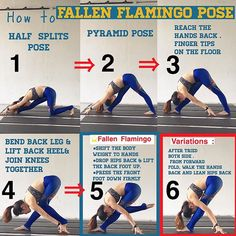 ⭐️How to #fallenflamingo Poss⭐️ Please do not ask me why it is called fallen flamingo pose  . This is a variation of #pyramidpose . It is also called@#oneleggedpyramidpose . In this pose, weight is on the hands. The front leg should be about 45。degree w http://www.yogaweightloss.net/best-yoga-position/