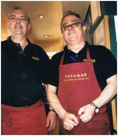 Los dos encargados actuales, Alejandro y Eugenio (Fragui), se incorporaron a la plantilla de Docamar en los años setenta.