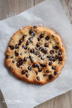 Single Serve Jumbo Chocolate Chip Cookie (Low Carb)
