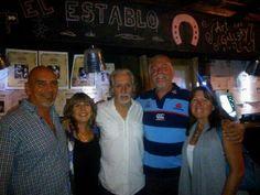 Con los Pinter y Mestre en Chile