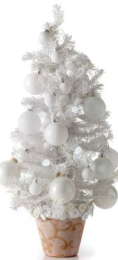 4' Deluxe White Tinsel Christmas Tree $20 @Michael Atkins lots ...