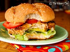 Buffalo Turkey Burgers With Blue Cheese Broccoli Slaw Recipes ...