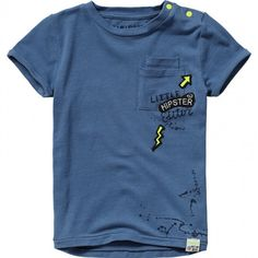 Vingino® T-shirt Harco Mini Delft Blue Spring/Summer collection 2017 Baby Boy T Shirt, Baby Shirts, Boys T Shirts, Baby Boy Outfits, Kids Outfits, Homemade T Shirts, Polo Outfit, Mens Polo T Shirts, Winter Baby Clothes