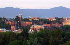 Washington State University~Pullman, Eastern Washington