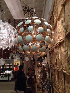 at Solaria Lighting orb light