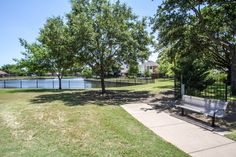 Great home locations in Coppell TX near Allen Road Park