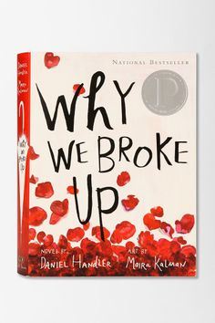 Why We Broke Up By Daniel Handler & Maira Kalman #urbanoutfitters
