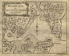 early map of botany bay/sydney
