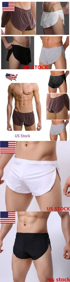 Man Boxers: Sexy Men S Casual Home Pajamas Shorts Sleepwear Boxer Trunks Underwear Us Stock -> BUY IT NOW ONLY: $6.14 on eBay!
