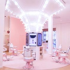 Beauty Room Decor, Beauty Salon Decor, Beauty Salon Design, Salon Interior Design, Makeup Studio Decor, Nail Salon Decor, Boutique Deco, Aesthetic Rooms, Home Room Design