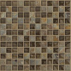 Mosaic Slate tile by Shaw Floors in collection Ceramic Solutions..  Rugged and Warm..  Love it!