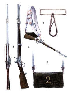 Granducato di Varsavia Cavalleria 2° Rgt. lancieri carabina mod. 1777 anno IX 1807-1814
