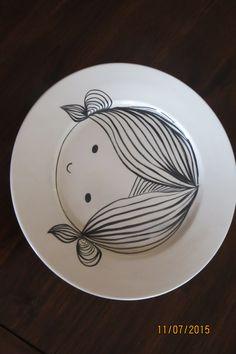 Kids dinner plate 25cm & Kids design. 25cm dinner plate. | Handmade ceramics | Pinterest