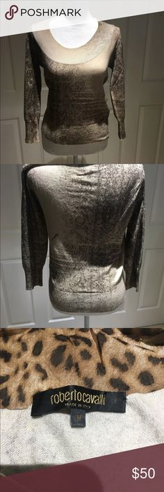 467951f038e I just added this listing on Poshmark  Roberto Cavalli sweater.