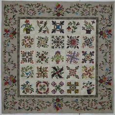 edyta sitar quilt | The pattern is Applique Affair by Edyta Sitar of Laundry Basket Quilts ...
