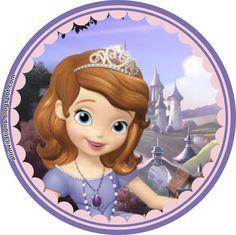 Plantilla Boton Princesa Sofia