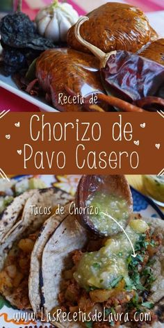 Chorizo de pavo casero - Las recetas de Laura Comida Keto, Mexican Food Recipes, Ethnic Recipes, Green Bean Casserole, Cooking Recipes, Healthy Recipes, Rabbit Food, Food Hacks, Green Beans