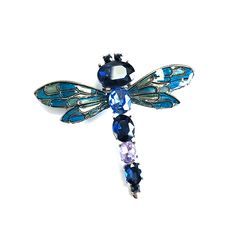 DRAGONFLY JEWELLED BROOCH Happy Shopping, Turquoise Bracelet, Brooch, Buttons, Jewels, Bracelets, Stuff To Buy, Collection, Jewerly